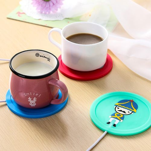 Cartoon-creative-silicone-electric-Insulation-font-b-coaster-b-font-font-b-USB-b-font-warm