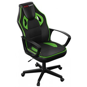 silla-gamer-mars-gaming-mgc0bbl-color-negro-verde-asiento-pu-y-nylon-reclinable-y-ergonomico-base-pvc-60-x-75-x-110-120cm-145